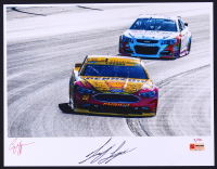 Joey Logano Signed NASCAR Limited Edition 11x14 Photo #/22 (PA COA)