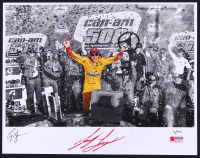 Joey Logano Signed NASCAR Limited Edition 11x14 Photo #/22 (PA COA) at PristineAuction.com