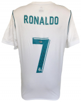 Cristiano Ronaldo Signed Real Madrid Adidas Jersey (Beckett COA) at PristineAuction.com