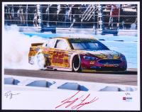 Joey Logano Signed NASCAR Limited Edition 11x14 Photo #/22 (PA COA)