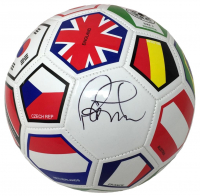 Philipe Coutinho Signed Team Brazil Soccer Ball (Beckett COA) at PristineAuction.com