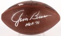 "Jim Brown Signed Official NFL Game Ball Inscribed ""HOF '71"" (Fanatics)"