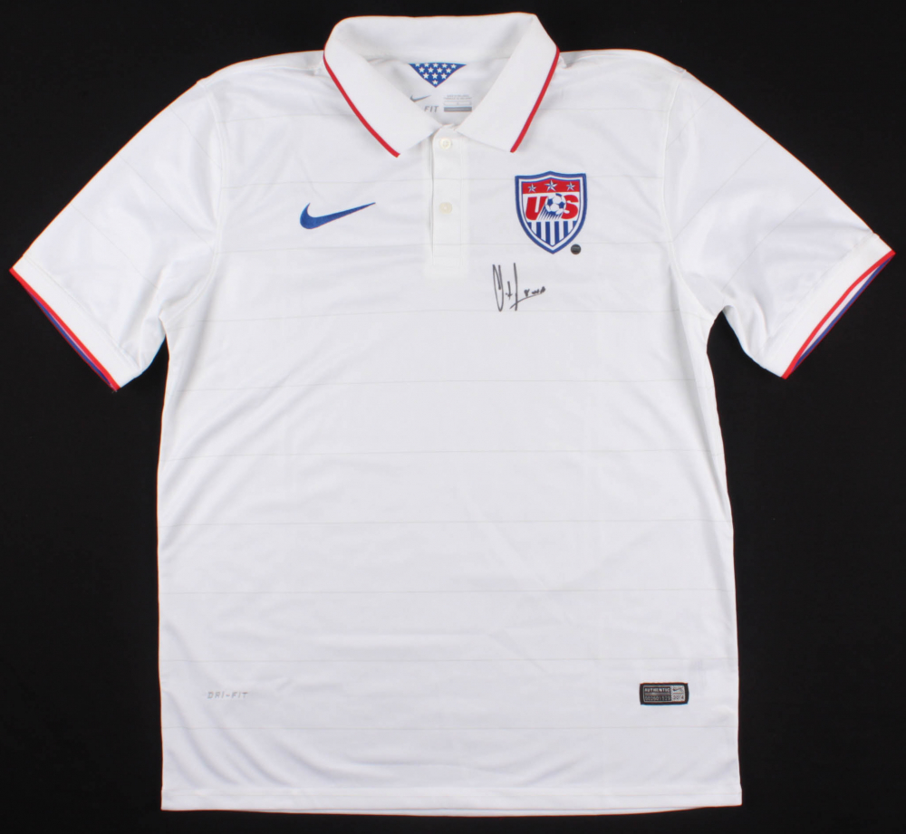 e2314cad0 Clint Dempsey Signed Team USA Jersey (Steiner COA) at PristineAuction.com
