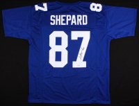 Sterling Shepard Signed Jersey (Fanatics Hologram) at PristineAuction.com