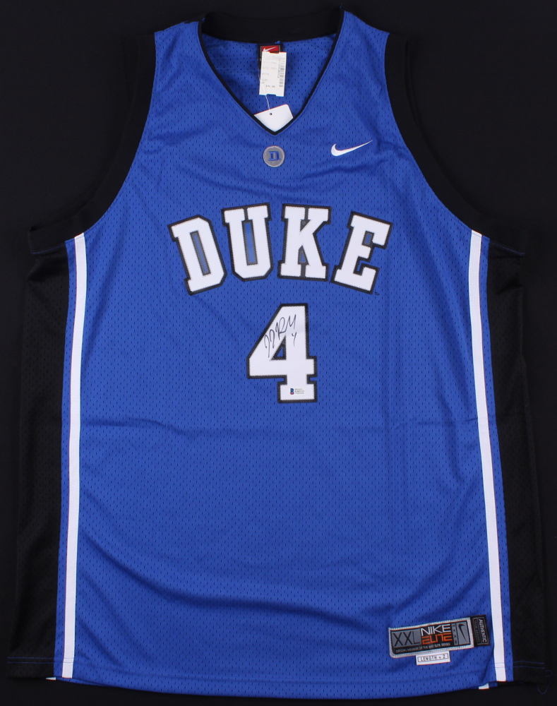 ac76d7d043b ... low price j.j. redick signed duke blue devils jersey beckett coa at  pristineauction 35e32 cf2a0