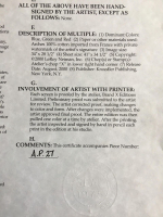 "LeRoy Neiman Signed Tiger Woods ""Valhalla"" 28x35 Custom Framed Artists Proof Serigraph (Knoedler Publishing COA) at PristineAuction.com"