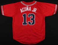Ronald Acuna Jr. Signed Braves Jersey (JSA COA)