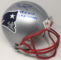 "Tom Brady Signed Patriots Full-Size Authentic On-Field Limited Edition Helmet Inscribed ""SB 51 MVP"" & ""SB 51 Champs"" (TriStar Hologram) at PristineAuction.com"