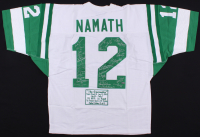 Limited Edition Jersey Signed By (27) With Joe Namath, Bake Turner, Bill Baird, Don Maynard (Steiner COA) at PristineAuction.com