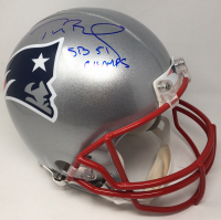 "Tom Brady Signed New England Patriots Full-Size Authentic On-Field LE Helmet Inscribed ""SB 51 Champs"" (TriStar Hologram & Steiner Hologram) at PristineAuction.com"