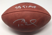 "Tom Brady Signed Super Bowl 51 Limited Edition ""The Duke"" NFL Official Game Ball Inscribed ""SB 51 MVP"" (Steiner COA & TriStar Hologram)"