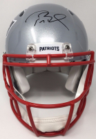 Tom Brady Signed Patriots Super Bowl 51 Limited Edition Authentic On-Field Speed Helmet (Tristar Hologram & Steiner COA)
