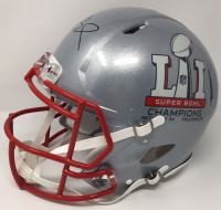 Tom Brady Signed New England Patriots Super Bowl 51 LE Authentic On-Field Speed Helmet (Tristar Hologram & Steiner COA) at PristineAuction.com