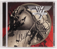 "Van Halen ""A Different Kind of Truth"" CD Booklet Signed by (4) with Eddie Van Halen, Alex Van Halen, David Lee Roth & Wolfgang Van Halen (JSA LOA)"