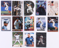 Lot of (13) Derek Jeter Baseball Cards with 1994 Ted Williams #124, 2011 Bowman Bowman's Best #BB11, 1997 Upper Deck #421, 2000 Pacific Crown Collection #197 at PristineAuction.com