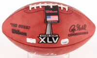 Aaron Rodgers Signed Official Super Bowl XLV Game Ball (Radtke COA & Fanatics Hologram) at PristineAuction.com