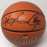 Stephen Curry & Kevin Durant Signed Limited Edition NBA Finals Basketball (Panini COA & Steiner Hologram) at PristineAuction.com