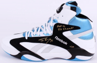 """Shaquille O'Neal Signed Limited Edition Size 22 Reebok Shoe Inscribed """"HOF 16"""" & """"4x Champs"""" (Steiner COA) at PristineAuction.com"""