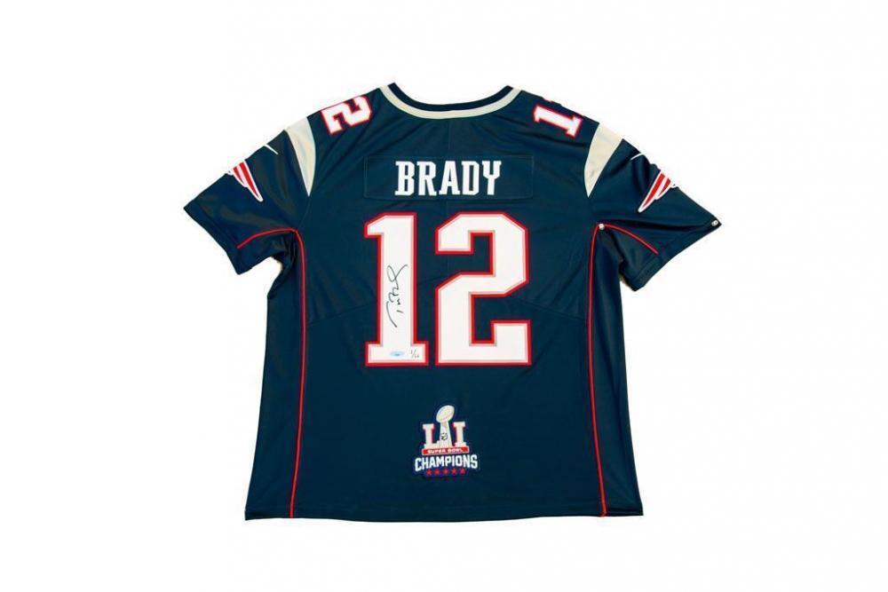 tom brady limited edition jersey