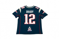Tom Brady Signed Patriots Limited Edition Jersey with Super Bowl LI Patch (TriStar Hologram)