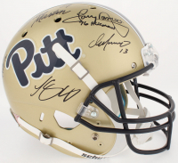 Pittsburgh Panthers Greats Full-Size Helmet Team-Signed By (5) With Curtis Martin, Tony Dorsett, Chris Doleman, Dan Marino With Inscriptions (Radtke COA & GTSM Hologram) at PristineAuction.com