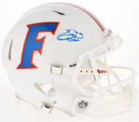 Emmitt Smith Signed Florida Gators Full-Size Authentic Throwback Speed Helmet (Prova COA)