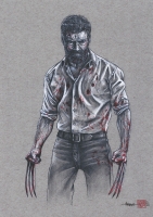 Thang Nguyen - Wolverine 8x12 Signed Limited Edition Giclee on Fine Art Paper #/25