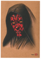 """Thang Nguyen - Darth Maul """"Star Wars"""" 8x12 Signed Limited Edition Giclee on Fine Art Paper #/20 at PristineAuction.com"""