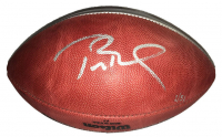 "Tom Brady Signed Super Bowl 51 Silver Limited Edition ""The Duke"" Patriots Logo NFL Official Game Ball (Steiner COA & TriStar Hologram) at PristineAuction.com"