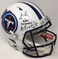 Marcus Mariota Signed Titans Limited Edition Full-Size Authentic On-Field Speed Helmet (Steiner COA) at PristineAuction.com