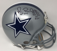 """Michael Irvin Signed Cowboys Limited Edition Full-Size Authentic On-Field Helmet Inscribed """"HOF 2007"""" & """"Super Bowl XXVII XXVIII XXX Champs"""" (Steiner COA) at PristineAuction.com"""