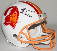 """Jameis Winston Signed Buccaneers Limited Edition Full-Size Authentic On-Field Throwback Helmet Inscribed """"2015 #1 Pick"""" (Steiner COA) at PristineAuction.com"""