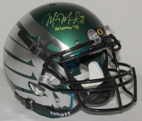"Marcus Mariota Signed Oregon Ducks LE Full-Size Authentic On-Field Helmet Inscribed ""Heisman '14"" (Steiner COA) at PristineAuction.com"