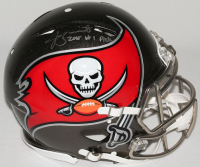 """Jameis Winston Signed Buccaneers Limited Edition Full-Size Authentic On-Field Speed Helmet Inscribed """"2015 #1 Pick"""" (Steiner COA) at PristineAuction.com"""