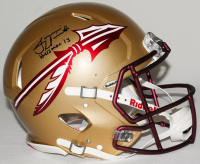 """Jameis Winston Signed Florida State Seminoles Limited Edition Full-Size Authentic On-Field Speed Helmet Inscribed """"Heisman 13"""" (Steiner COA) at PristineAuction.com"""