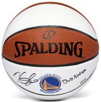 "Kevin Durant Signed Limited Edition Warriors Logo Basketball Inscribed ""Dub Nation"" (Panini COA) at PristineAuction.com"