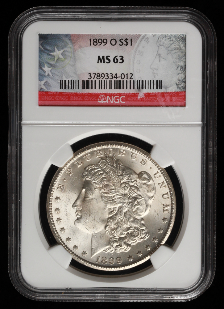 1899-O Morgan Dollar MS-63 NGC