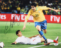 Kaka Signed Brasil 11x14 Photo (PSA COA)