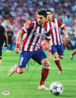 David Villa Signed Atletico Madrid 11x14 Photo (PSA COA) at PristineAuction.com