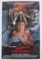 """A Nightmare on Elm Street"" 24x36 Poster Signed by (4) Including Robert Englund, Heather Langenkamp, Amanda Wyss & Ronee Blakley with Inscriptions (JSA COA)"