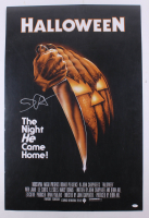 "John Carpenter Signed ""Halloween"" 24x36 Poster (JSA COA)"