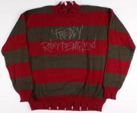 "Robert Englund Signed ""Nightmare on Elm Street"" Sweater Inscribed ""Freddy"" (JSA COA)"