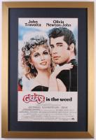 """Grease"" 17x25 Custom Framed Movie Poster Display"