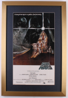"""Star Wars: A New Hope"" 17x25 Custom Framed Movie Poster Display"