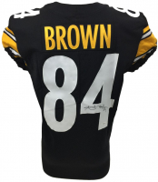 Antonio Brown Signed 2017 Steelers Game-Issued Jersey (JSA COA)