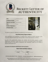 """Paul McCartney Signed The Beatles """"Hey Jude"""" Record Album (Beckett LOA) at PristineAuction.com"""