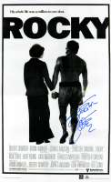 """Sylvester Stallone Signed """"Rocky"""" 24x36 Movie Poster (ASI COA)"""