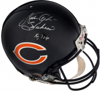 "Walter Payton Signed Riddell Bears Full-Size Authentic On-Field Helmet Inscribed ""16, 726"" (PSA LOA)"