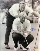 Arnold Palmer & Jack Nicklaus Signed 16x20 Photo (Fanatics Hologram) at PristineAuction.com