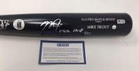 "Mike Trout Signed Old Hickory Game Model MT27P Baseball Bat Inscribed ""14, 16 MVP"" (Steiner Hologram & MLB Hologram) at PristineAuction.com"